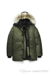 women winter brand parka Coupons - Men Women Parkas LONG WINTER CAN-Chateau-P2 Down & Parkas WITH HOOD Snowdome jacket Brand Real Raccoon Collar White Duck Outerwear & Coats