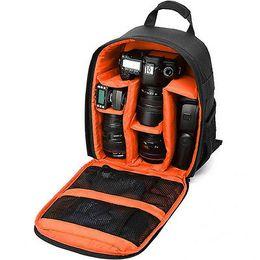 Sacs d'appareil photo imperméables en Ligne-Sacs à dos imperméables pour l'appareil photo Hommes Femmes Sac à dos sac pour Nikon Sony