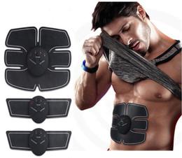 Smart EMS Électrique Pulse Traitement Toner Muscle Abdominal Formateur Sans Fil Sport Stimulateur Musculaire Corps Fitness Minceur Masseur ? partir de fabricateur