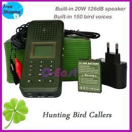Wholesale Decoy Ducks - 20W speaker + 2200mah battery Goose duck bird hunting sound mp3 player digital hunting bird caller wild animals decoy