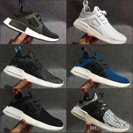 Wholesale Man City Socks - NMD XR1 Mastermind zebra Olive green Glitch Black White Camo x City Sock PK NMD_XR1 Primeknit Running Shoes Men Women Sports shoes