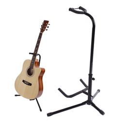 2019 rackbass Gute Qualität Schwarz Klappeisen Stativ Guitar Stand mit Schutz Velveteen Gummi-Polsterung für Elektro-Akustik-Bass