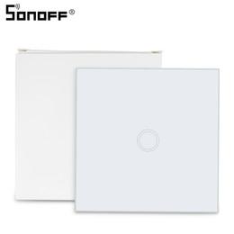 SONOFF T433 86 Tipo 433 mhz Control remoto de pared RF Luz LED Interruptor de panel táctil Wifi inalámbrico Controlador inteligente Inicio Google desde fabricantes