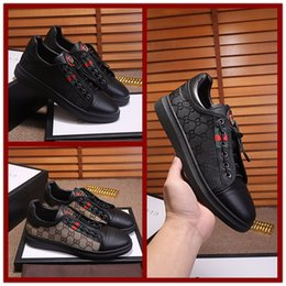 Wholesale lace wedding shoes women - Dress shoes for man Women new mesh leather classic brown black Business ol mens italian dress shoe lOVER