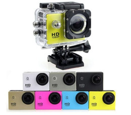 Wholesale mini sports dv video camera - SJ4000 1080P Full HD Action Digital Sport Camera 2 Inch Screen Under Waterproof 30M DV Recording Mini Sking Bicycle Photo Video Cam