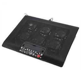 Sob 17 polegadas Laptop Notebook Cooler Base de Arrefecimento USB Ventiladores Ajustável Angle Mounts com Suporte Stand Frete Grátis de