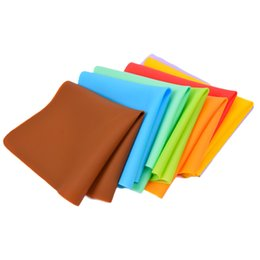 Wholesale meal pad - New Modern Pvc Multicolor Rectangle Geometry Place Meal Mats & Pads Table Kitchen