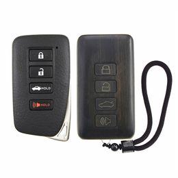 2019 lexus schlüssel fob Fernbedienung Refit Palisander Autoschlüssel Fob Shell Ersatz für Lexus ES GS IS LX NX RC (Platine Batterie ausgeschlossen) rabatt lexus schlüssel fob