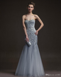 Tulle long Off Shoulders Evening Dresses mermaid heart-shaped neckline  sleeveless Prom Dresses 2018 Party ball gown