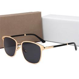 Wholesale brand new rims - 2018 new Luxury Polarized Sunglasses Brands for Men Women sunglasses Retro Brand Designer Sun Glasses Full Rim Glasses with Original Box