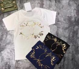 Wholesale Black Art Tee Shirts - 18SS Luxury Europe Paris High Collaboration Coco Love Heart Graffiti Art Tshirt Fashion Men Women T Shirt Casual Cotton Tee Top