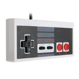 janelas jogos clássicos Desconto Novo controlador com fio para nes classic edition usb controlador gamepad joystick para nes mini windows pc video game retro