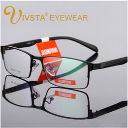 2fb1e26fec IVSTA Eyeglasses Frame Glasses Men Optical Glasses Spectacle Frame For Male  prescription lenses myopia TR90 Metal Square reading