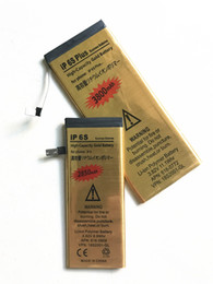 Wholesale Replacement Ups Batteries - Hot Selling High Capacity Gold Battery Replacement Li-ion Battery for iPhone 5g 5s 5c 6g 6s 6p 6sp Original Quality Wholesale Price UPS