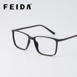 86f5476031 FEIDA Brand eyeglasses frames men TR90 eyeglasses Ultra-Light Frames  Reading Glasses spectacle for men women YX0163