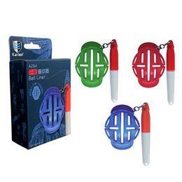 marca de línea de pelota de golf Rebajas Golf Ball Line Liner Marker Template Dibujo Marcas de Alineación Putting Tool envío gratis