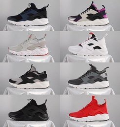 Wholesale Huaraches Basketball Shoes - 8 Color Men air Running Shoes Huaraches Sports Shoes High Quality Air women huarache 4 Basketball Shoes Huraches ultra Outdoors Sneakers