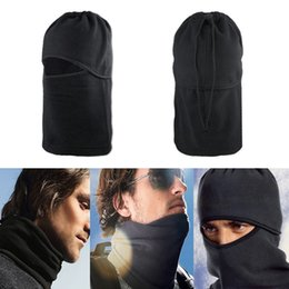 Wholesale motorcycle face covering mask - Fleece Mask Motorcycle Face Mask Windproof Hat Full Face Cover Cap for Skiing Riding Cycling Balaclava Winter Keep Warm
