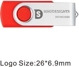 Toptan 100 adet Baskılı Özel logo 512 MB USB 2.0 Flash Sürücü Metal Döner Bilgisayar Laptop için Kazınmış Kişiselleştirin Memory Stick Kalem Sürücü nereden