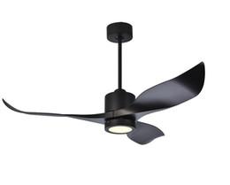 Wechselstromkühler online-Inverter-Motor 52 Zoll LED Deckenventilator Moderne Fan-Lichter Fernkühlung Deckenventilatoren Home Beleuchtung Fan Lampen Leuchten LLFA