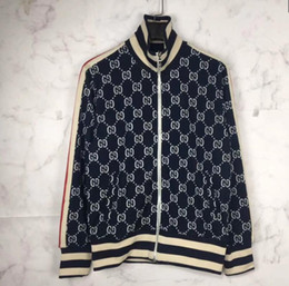 291ee1d3d 18 autumn and winter brand new European and American fashion G double  patterned knitted jacquard leisure jacket MA1 jacket jacket for men an on  sale. 5% Off