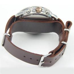 2019 relógio couro couro prata Neway 18 20 22 24mm de alta qualidade PU de Couro Relógio de Pulso Strap Watchband Moda Prata Fivela de Pulso Banda Preta Marrom Preto desconto relógio couro couro prata