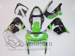 1998 кавасаки zx9r зеленые обтекатели Скидка 3gifts Freecustom обтекатели для KAWASAKI NINJA ZX9R 1998 1999 ZX 9R 98 99 обтекатель комплекты зеленый черный кузов