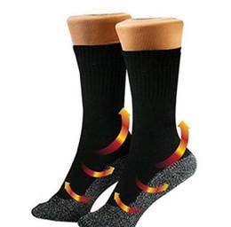 Wholesale Feet Warmers Socks - 35 Below Socks Keep Your Feet Warm and Dry Aluminized Fibers Sock Thermo Socks OPP Bag Package 300 Pairs