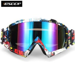 Wholesale Rider Pc - Hot sell Top SDDP motorcycle rider off-road ski goggles equipment protective sunglasses anti fog goggles