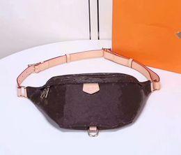 Wholesale Fanny Pack Shoulder Bag - Designer newest stlye famous brand Bumbag Cross Body Shoulder Bag Autn Material Waist Bags Bumbag M43644 Cross Fanny Pack Bum Waist Bags