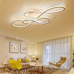 2019 deckenventilatoren modern zeitgenössisch YF17032 Einfache Moderne LED Deckenleuchte Hause Leuchten Kreative Schlafzimmer Deckenleuchte Wohnzimmer Beleuchtung Led-licht