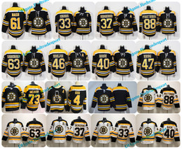 Wholesale Boston Grey - 2018 Boston Bruins 61 Rick Nash Patrice Bergeron Bobby Orr Chara Brad Marchand David Pastrnak Tuukka Rask Krejci Krug McAvoy Hockey Jerseys