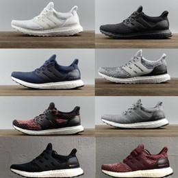 reputable site 13de4 26398 ultra zapatos de impulso Rebajas Ultra Boost 3.0 4.0 Hombre Mujer  Zapatillas de running Primeknit Triple