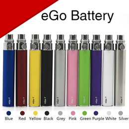 Wholesale Ego T Ce6 - EGo eGO-T Battery 650mah 900mah 1100mah Polymer Lithium Batteries 510 Thread For Electronic Cigarette CE4 CE5 CE6 H2 MT3 CE3