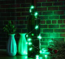Luces de cadena al aire libre con pilas online-200 CM Cactus 10 LED luz de la secuencia de Navidad con pilas LED hada luz de la secuencia de la lámpara del banquete de boda decoración de interior al aire libre
