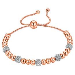 Acero inoxidable 316L 14K chapado en oro de los granos del encanto pulseras del acoplamiento de la joyería para las mujeres regalo de la muchacha VICHOK desde fabricantes