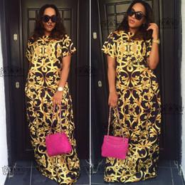 2018 Taille (L-3XL) Africain Nouveau Design De Mode Dashiki Super Élastique Impression Robe de soirée Pour Dame ? partir de fabricateur