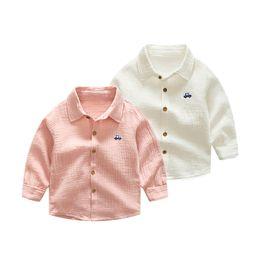 2019 taste cool Herbst jungen hemden frühling neue ankunft junge kinder kleidung casual taste langärmelige bluse cool kids baby boy günstig taste cool