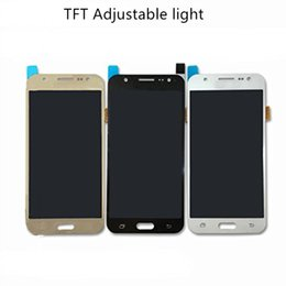 Argentina TFT Luz ajustable Versión universal Para Samsung Galaxy J5 J7 Lcd Grado A + Calidad Pantalla digitalizador Pantalla táctil Montaje completo Reemplazo Suministro