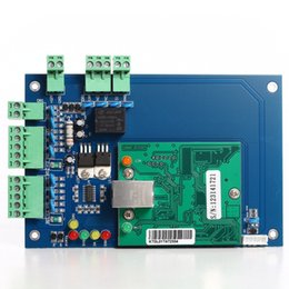 Wholesale Access Boards - Free Shipping Professional Wiegand 26 Bit 1 Door 2 Reader Security TCP IP Ethernet Network Access Control Board Panel Controller