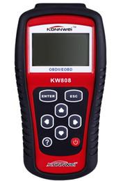 Fabricantes Herramienta de diagnóstico auto DHL KW808 EOBD OBD2 MaxiscanMS509 lector de código compatible CAN OBD 2 Escáner de restablecimiento del motor desde fabricantes