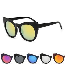 bad0723d3a2 wood imitation sunglasses 2019 - KUJUNY Retro Imitation Wood Grain  Sunglasses Oversized Sun Glasses Women Cat