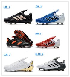 Wholesale Soccer Shoe Copa Mundial - 2018 New Arrival Men Copa 17.1 FG Soccer Shoes Copa Mundial Football Shoes Outdoor Genuine Leather Mens Soccer Cleats Boots Football Shoes