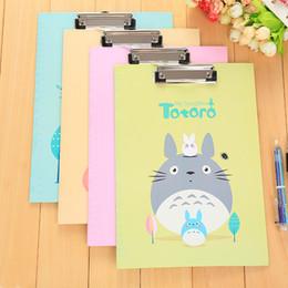 Deutschland Japan und Korea schöne Seiten Clip Cartoon niedliche kleine frische Ordner Schreibtafel Clip Schreibblock cheap clip board folder Versorgung