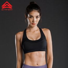 1ce73dae33 Syprem Winter High-intensity Support Sports Bra For Women Push Up Gym Vest  Shockproof Girl Running Yoga Fitness Underwear