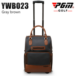 Wholesale Clothes Rod - PGM PGM golf clothes bag men nylon bag large capacity golf pull rod