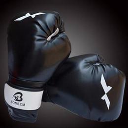 Wholesale Taekwondo Fighting Gloves - 1 Pair Training Boxing Gloves New Style Boxing Mitts Sanda Karate Sandbag Taekwondo Fighting Hand Protector Gloves
