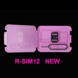 Wholesale Ios R Sim - newest Original R sim 12 rsim12 rsim sim12 ios 11 ios11 ios 10.x ICCID Unlocking for iPhoneX,iphone 8,8PLUS 7,7plus 4G 3G