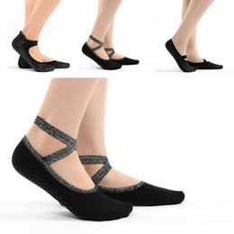 calcetines brillantes Rebajas 4 Estilos Negro Ballet Danza Mujeres Calcetines de Nylon Plata Brillante Yoga Mecánica Corporal Calcetines Danza de Silicona Sin Pilates Calcetines G520S