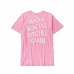 Wholesale Spot Shirt - Spot ANTI European and American short-sleeved fashion unisex T-shirt men's T-shirt trade